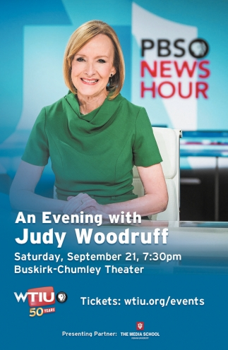 An Evening With Judy Woodruff