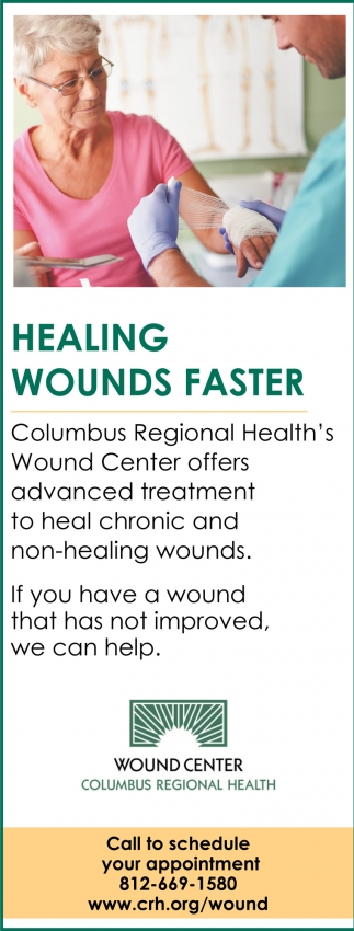 Healing Wounds Faster