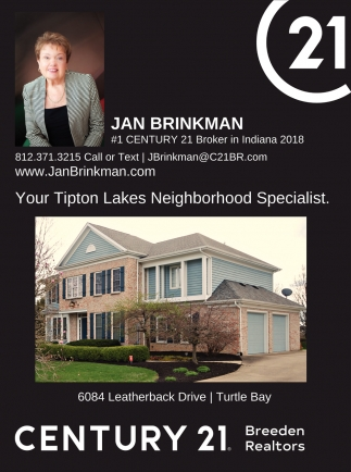 Your Tipton Lakes Neighborhood Specialist.