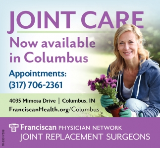 Joint Care Now Available In Columbus