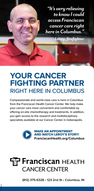 Your Cancer Fighting Partner Right Here In Columbus
