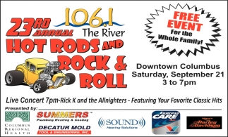 23rd Annual Hot Rods And Rock & Roll