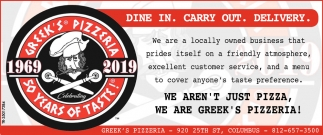 Dine In. Carry Out. Delivery.