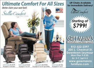 Ultimate Comfort For All Sizes