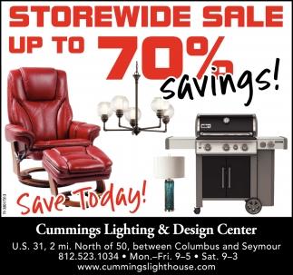 Storewide Sale Up To 70% Savings!
