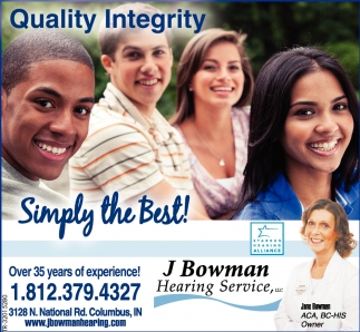 Quality Integrity, Simply The Best!