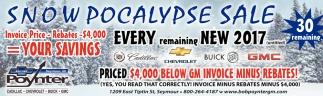 Snowpocalypse Sale
