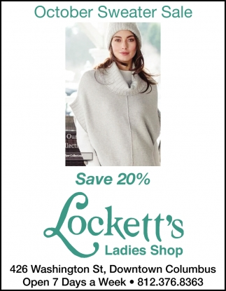 October Sweater Sale