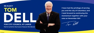 Re-Elect Tom Dell For City Council