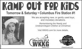 Kamp Out For Kids