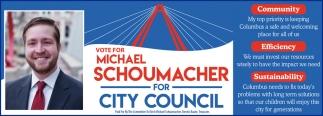 Vote For Michael Schoumacher For City Council