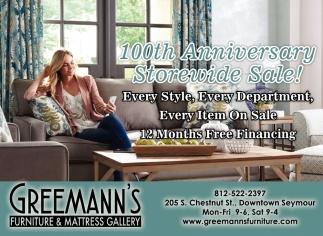 10th Anniversary Storewide Sale!