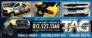 Vehicle Wraps - Custom Stripe Kits
