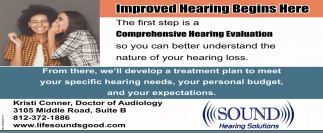 Improved Hearing Begins Here