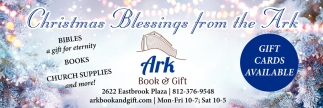 Christmas Blessings From The Ark