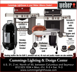 Cummings Lighthouse Is YOur Weber Alliance Dealer!