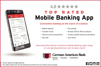Top Rated Mobile Banking App