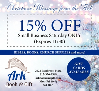 Christmas Blessings From The Ark