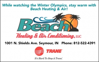 While Watching The Winter Olympics, Stay Warm With Beach Heating And Air!
