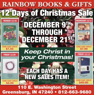 21 Days Of Christmas Sale