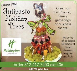 Order Your Antipasto Holiday Trees