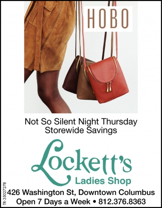 No So Silent Night Thursday Storewide Savings