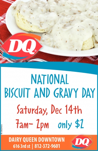 National Biscuit And Gravy Day