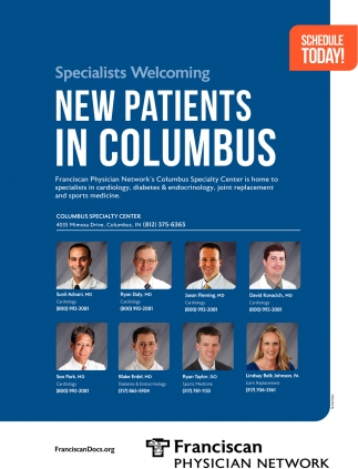 Specialists Welcoming New Patients In Columbus