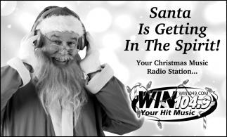 Santa Is Getting In The Spirit!