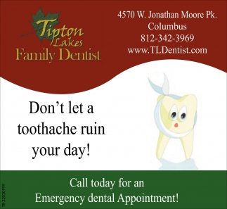 Don T Let A Toothache Ruin Your Day Tipton Lakes Family