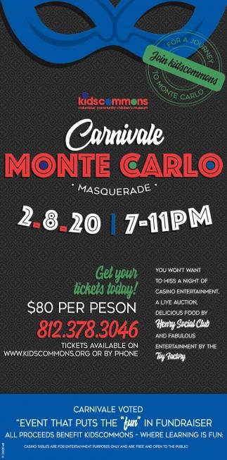 Carnivale Monte Carlo Masquerade