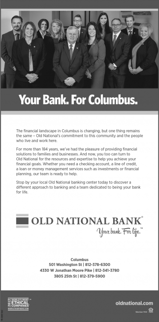 Your Bank. For Columbus.