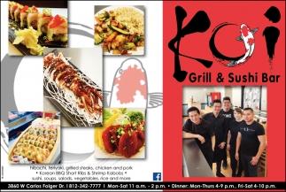 Korean BBQ Short Ribs & Shrimp Kabobs