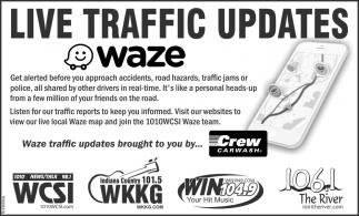 Live Traffic Updates.