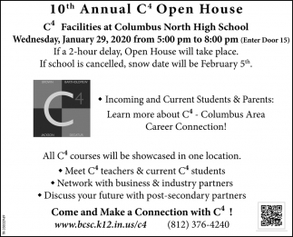 10th Annual C4 Open House