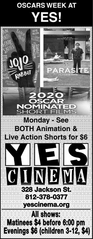 Oscars Week At Yes!