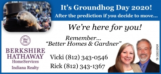 It's Groundhog Day 2020!