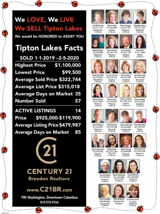 We Love, We Live, We Sell Tipton Lakes