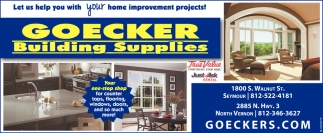 Let Us Help You With Your Home Improvement Projects