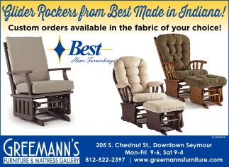 Glider Rockers From Best Made In Indiana!