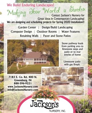 Making Your World A Garden