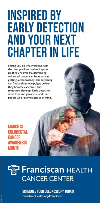 Inspired By Early Detection And Your Next Chapter In Life