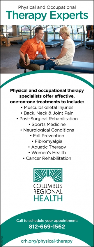 Physical And Ocupational Therapy Experts
