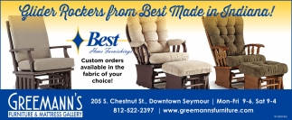 Custom Orders Available In The Fabric Of Your Choice!