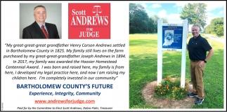 Bartholomew County's Future