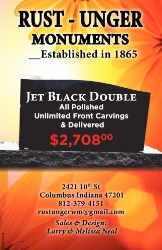 Jet Black Double