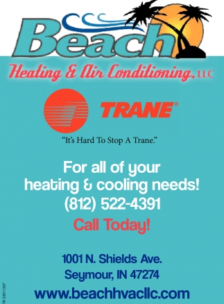 For All Of Your Heating And Cooling Needs!