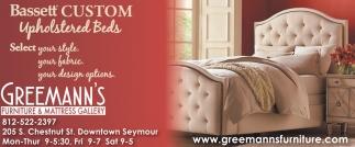 Basett Custom Upholstered Beds