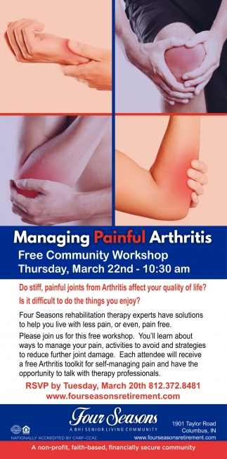 Managing Painful Arthritis