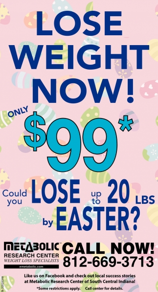 Lose Weight Now Only 99 Metabolic Research Centers Columbus In